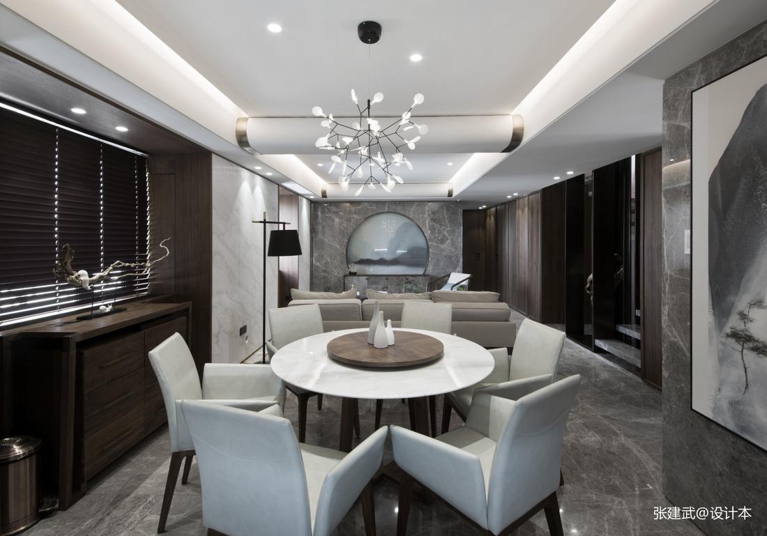 简洁68平中式二居餐厅设计美图