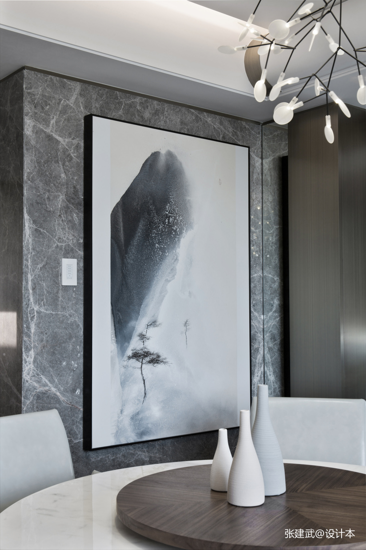 精致58平中式二居餐厅设计美图