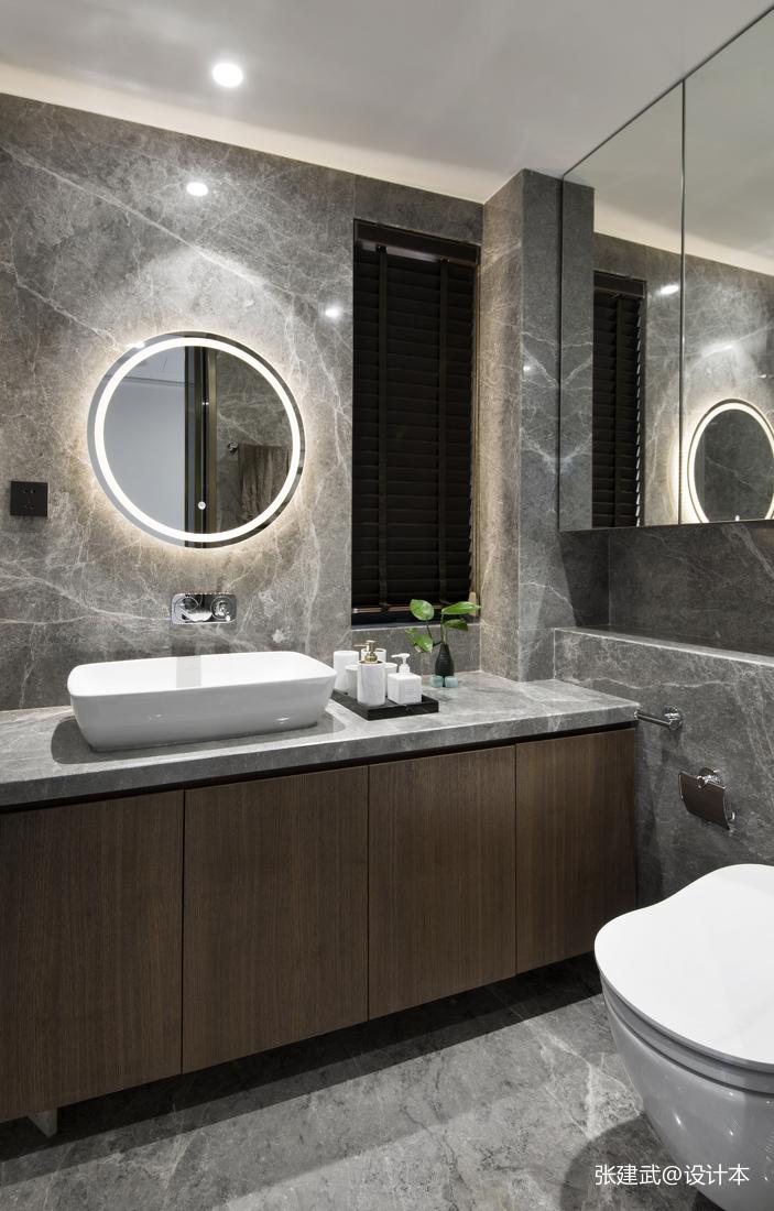 典雅65平中式二居卫生间设计效果图