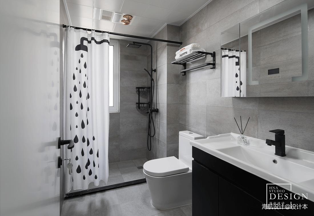 loft风卫浴设计图