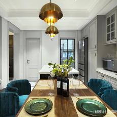 典雅559平美式别墅餐厅装修设计图