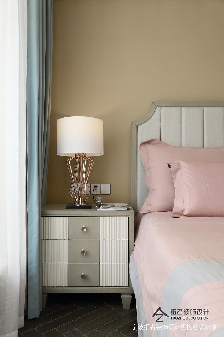 大气105平美式三居卧室装修案例