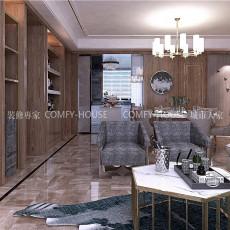 2018精选大小118平中式四居客厅装修效果图片欣赏