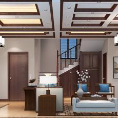2013客厅中式实木沙发图片