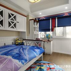 2018精选133平米美式复式儿童房装修效果图