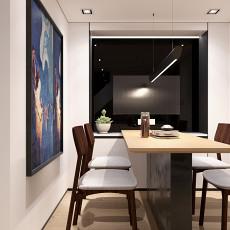 热门135平米复式餐厅装修效果图片
