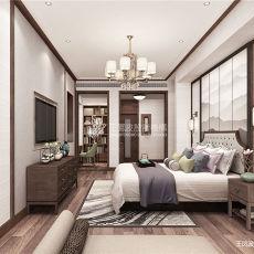 精美面积133平别墅卧室新古典装修实景图片大全