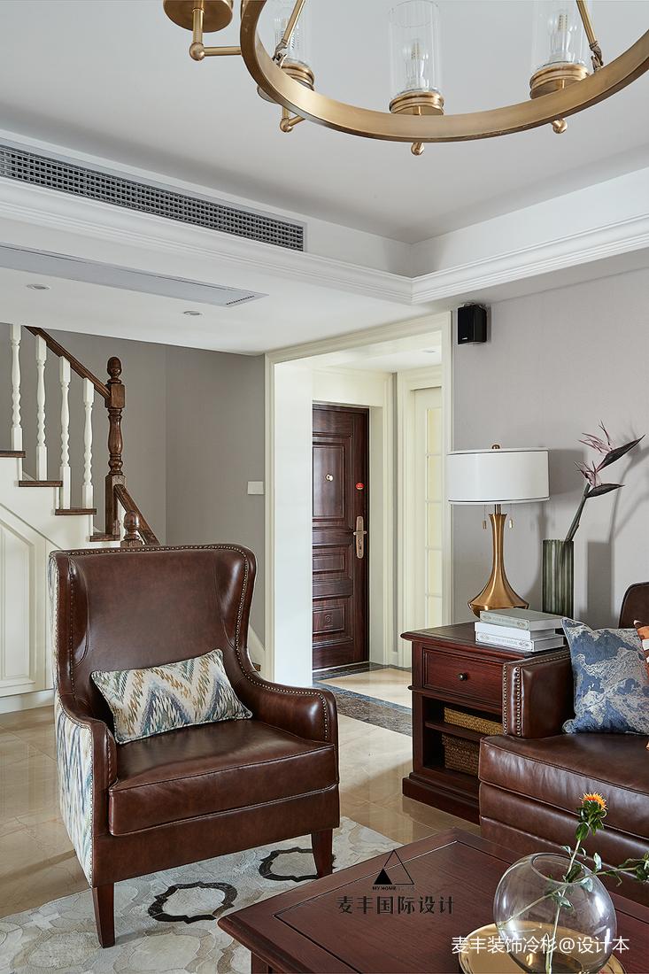 精致126平美式四居客厅设计案例