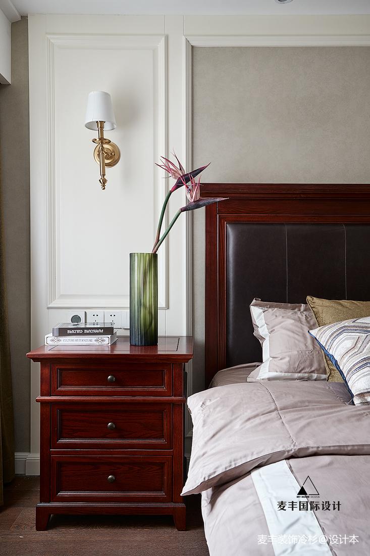 精美128平美式四居卧室设计图