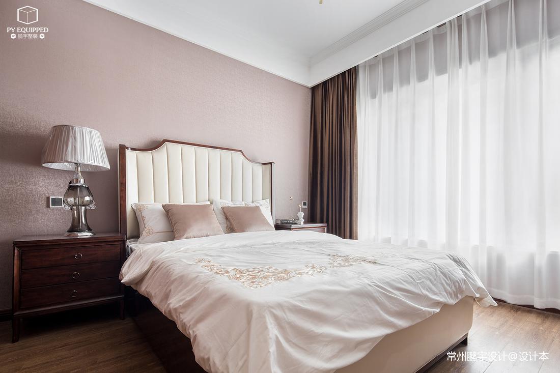 优雅64平美式复式卧室设计图