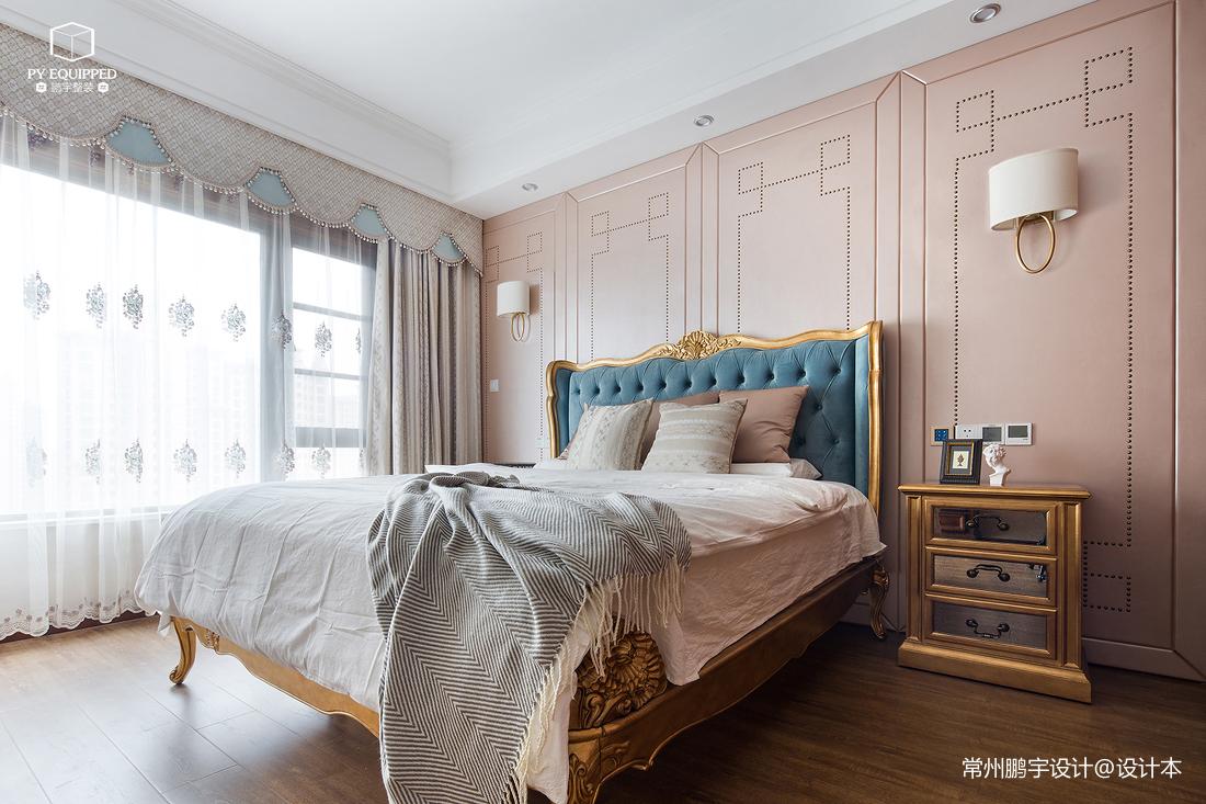 明亮48平美式复式卧室实拍图