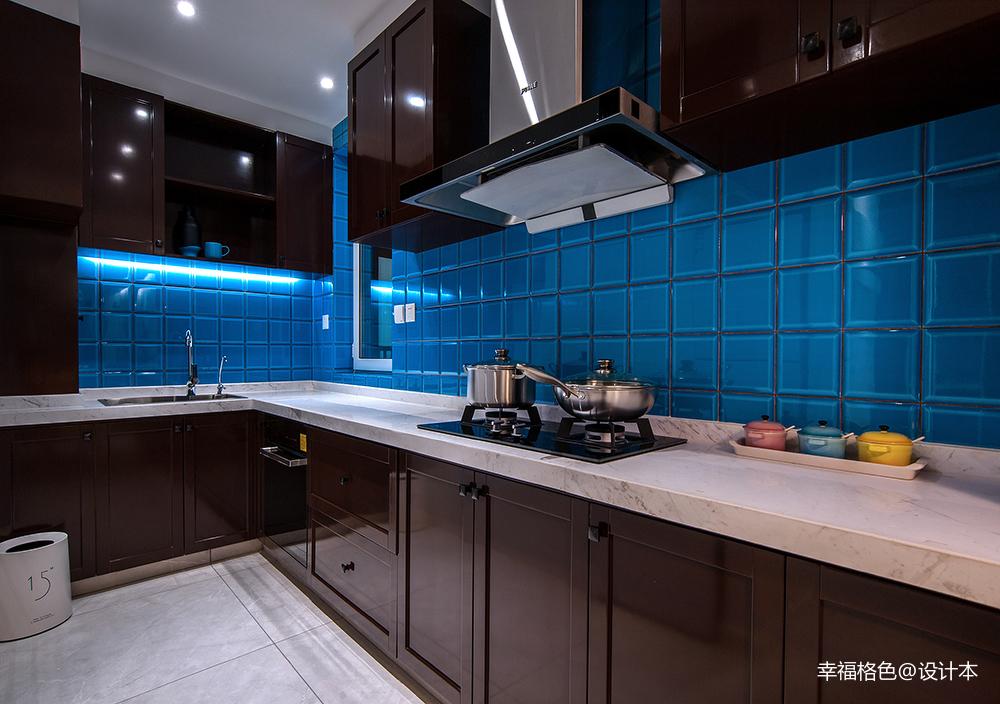 华丽86平北欧二居厨房装潢图