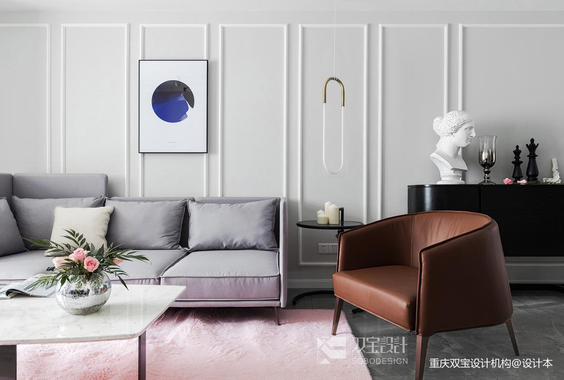 201976平法式二居客厅装修案例
