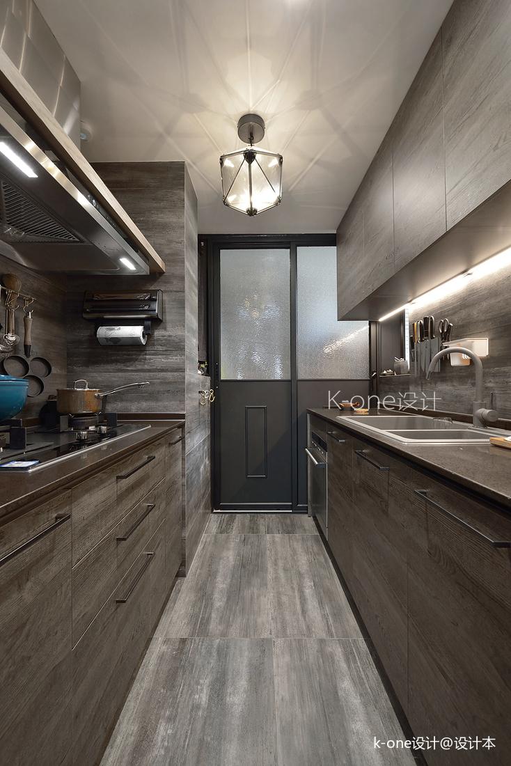 质朴120平混搭三居厨房效果图