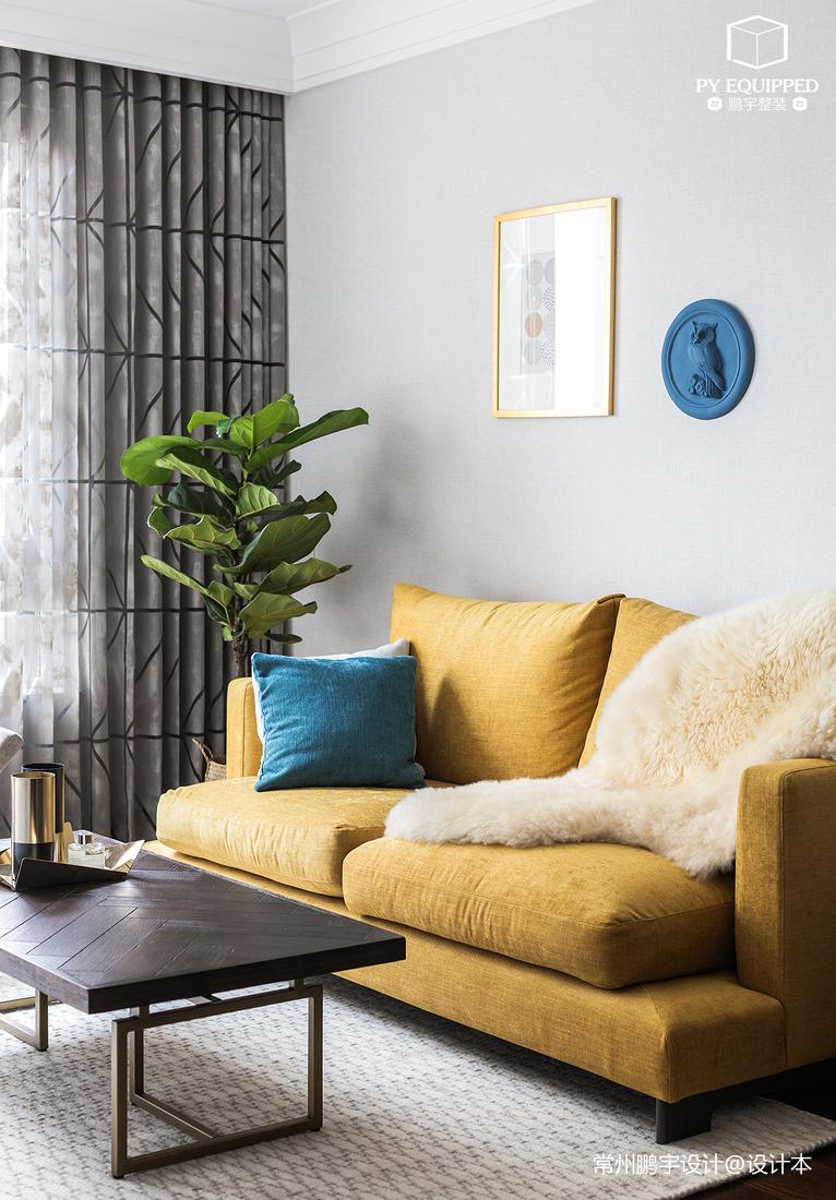 精美78平北欧二居客厅设计案例