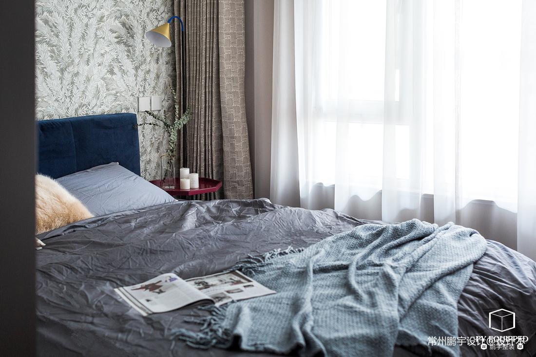 精致81平北欧二居卧室装修图片