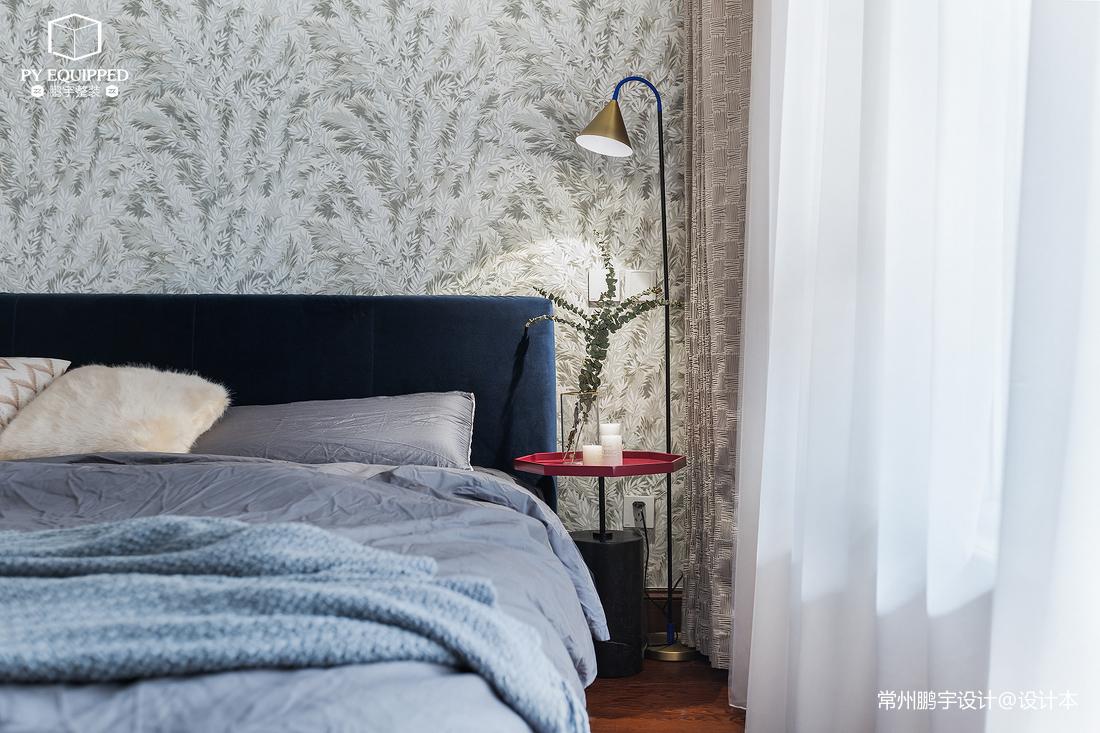 201955平北欧二居卧室装修设计图