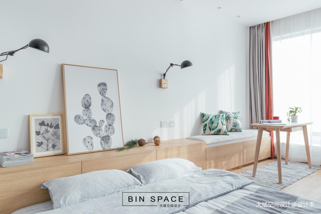 轻奢21平简约小户型卧室设计案例
