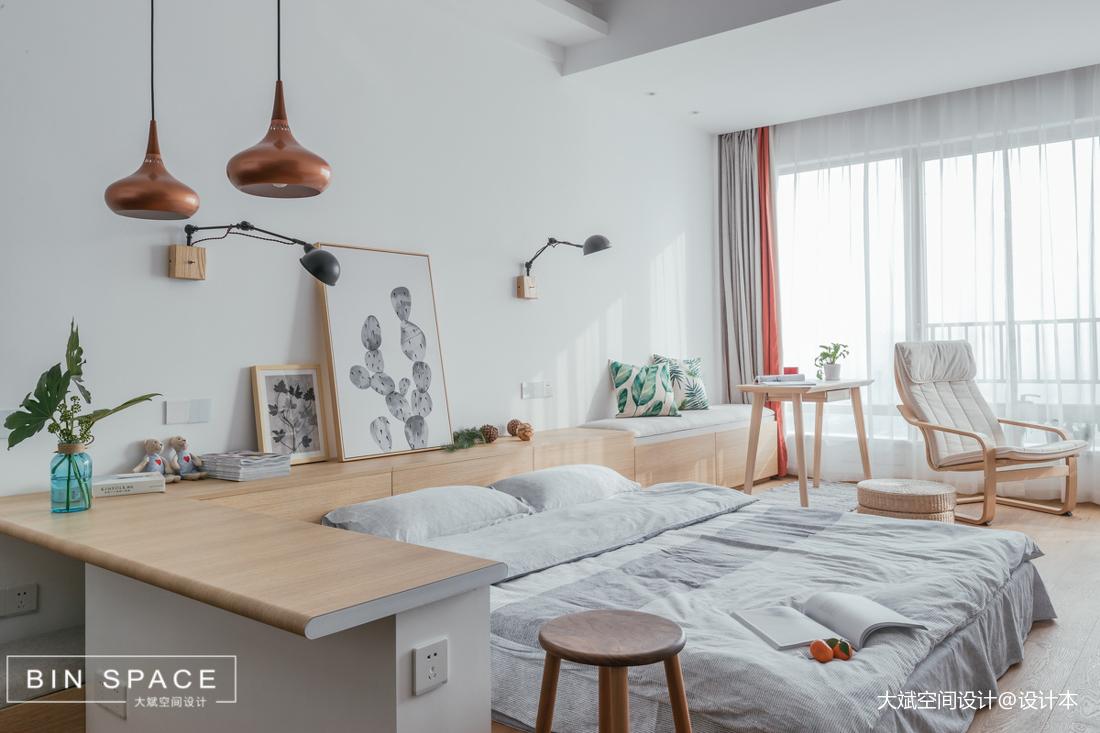 精美27平简约小户型卧室效果图