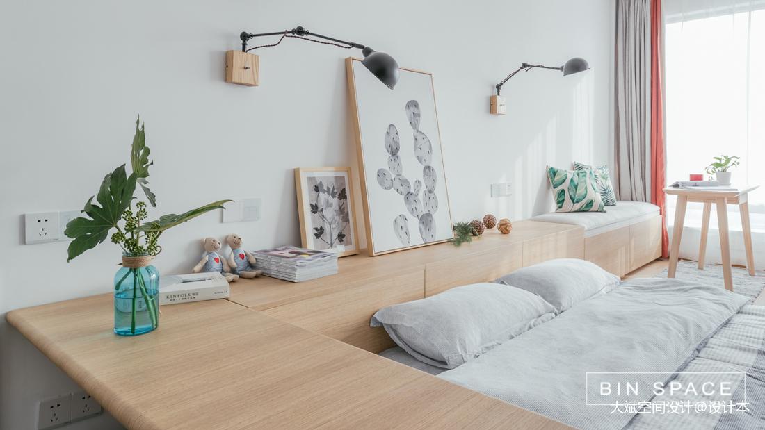 精致27平简约小户型卧室装修图