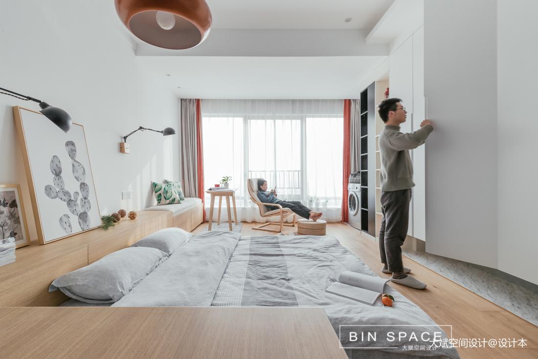 精美40平简约小户型卧室图片欣赏