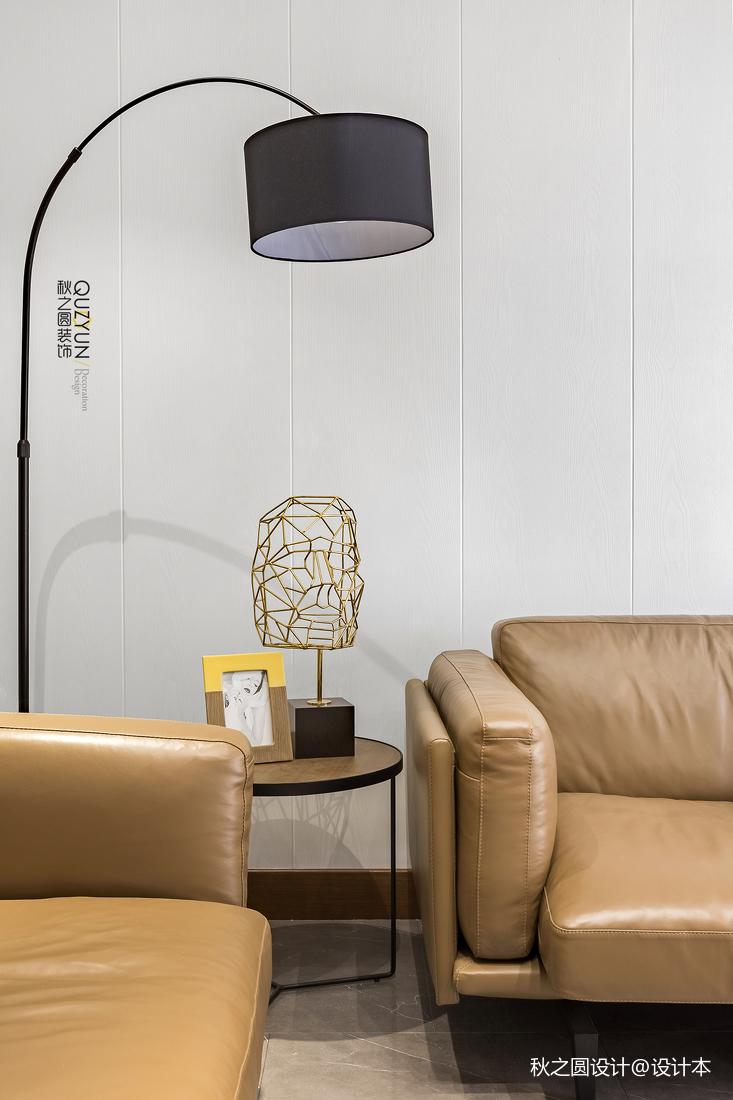 典雅60平現代二居客廳裝修案例