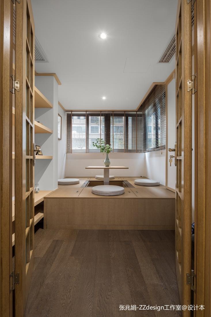 温馨91平中式四居休闲区装饰图