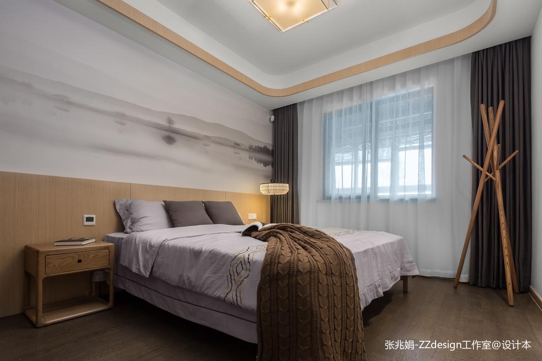 精美144平米四居卧室中式实景图