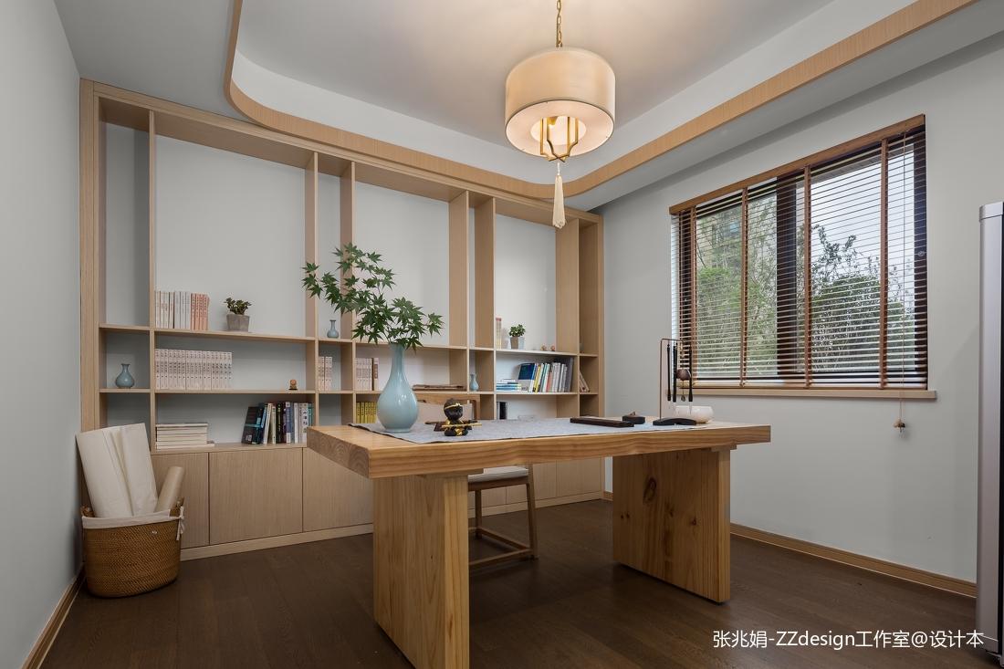 精美面积144平中式四居书房欣赏图