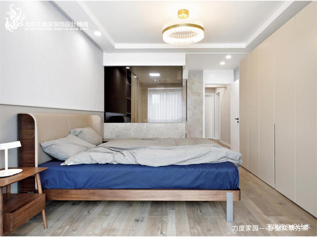 大气21平现代小户型卧室装饰图