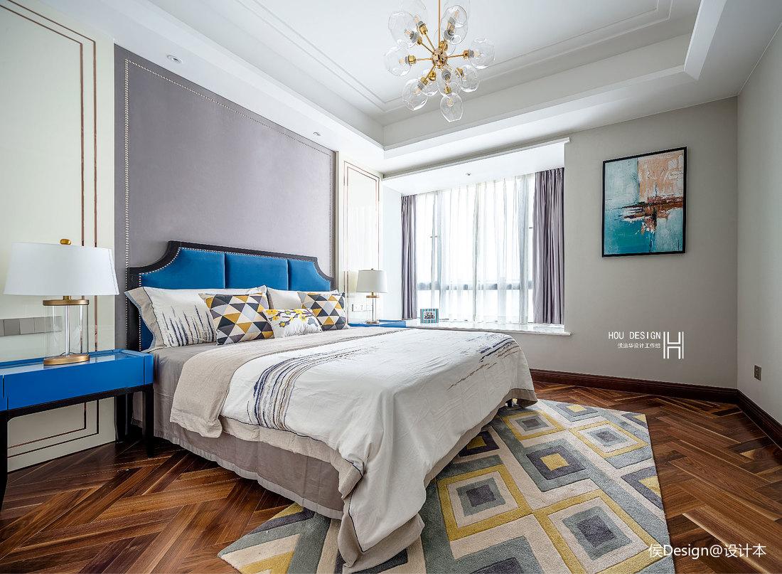 典雅114平中式四居卧室装修美图