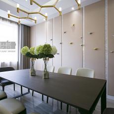 2018精选125平米混搭复式餐厅装饰图