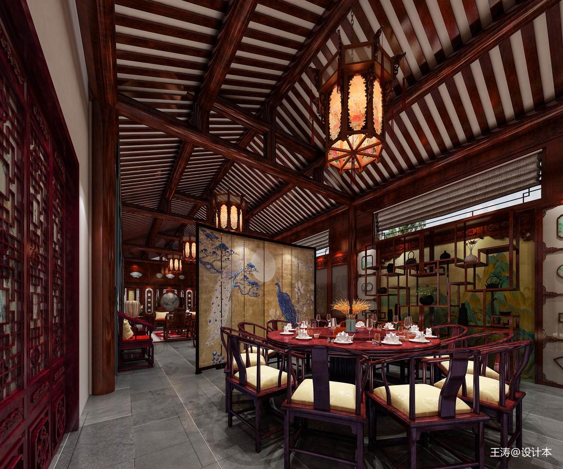 兰亭香樟-餐厅-新中式风格
