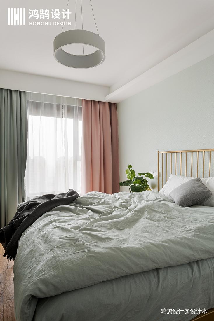 大气84平北欧三居卧室设计案例