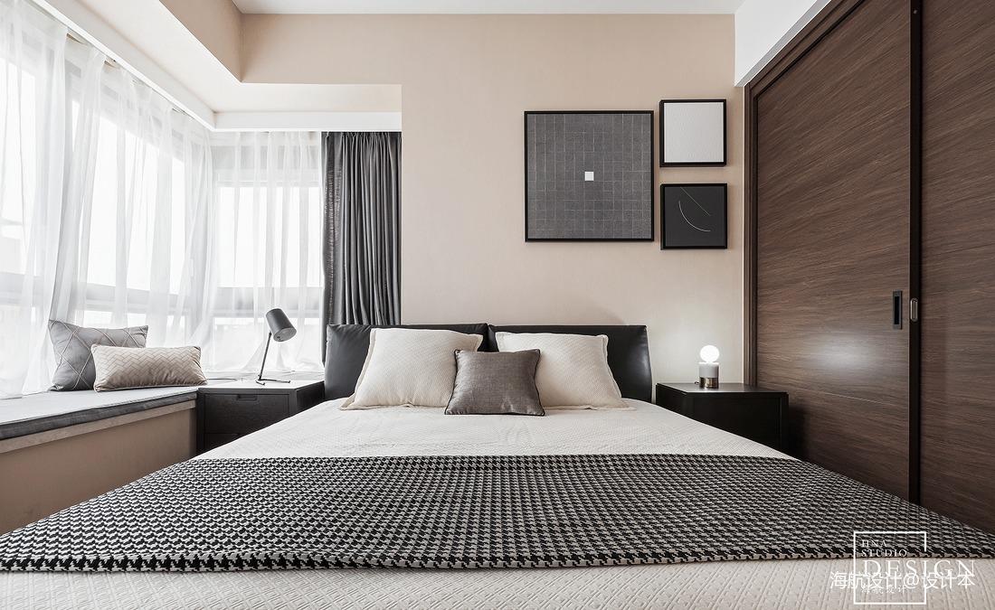 热门大小90平现代三居卧室实景图片大全