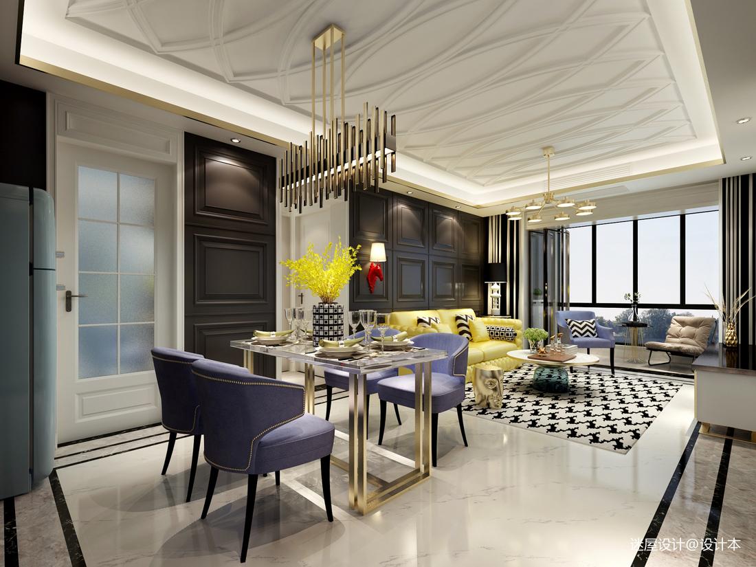 一个人住102㎡,改动一扇门,变大衣帽间,客厅配色美的像王妃_3294377