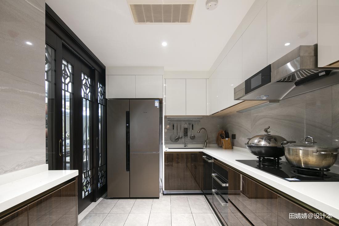 精美中式别墅厨房欣赏图片