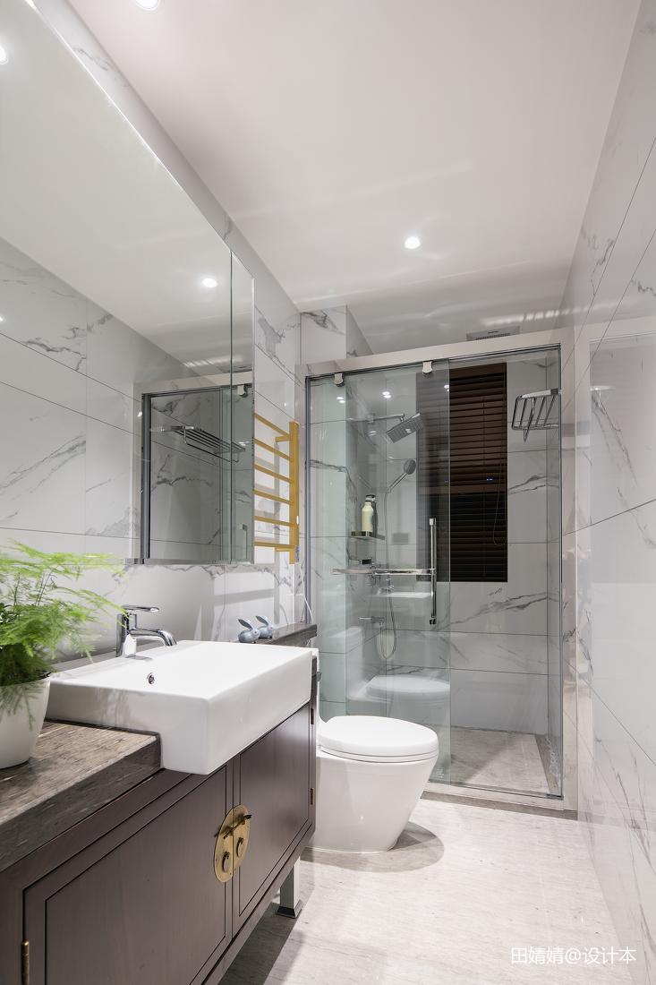 中式卫生间设计效果图