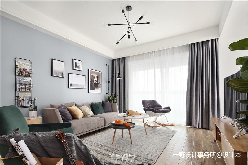 一野设计—明珠城 | 120㎡ | 北欧风格_3300227