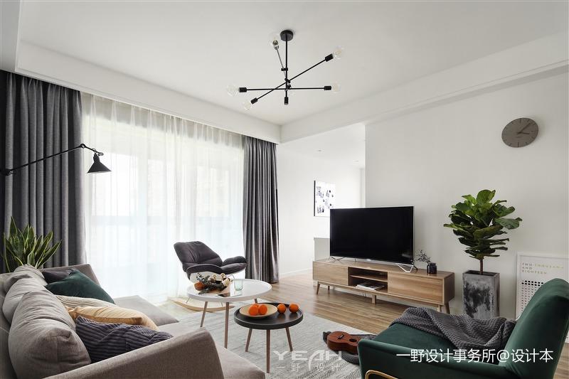 一野设计—明珠城 | 120㎡ | 北欧风格_3300229