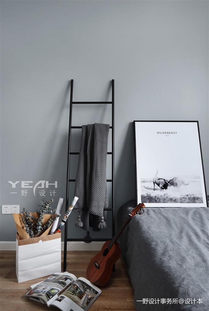 热门102平米三居卧室北欧装修效果图