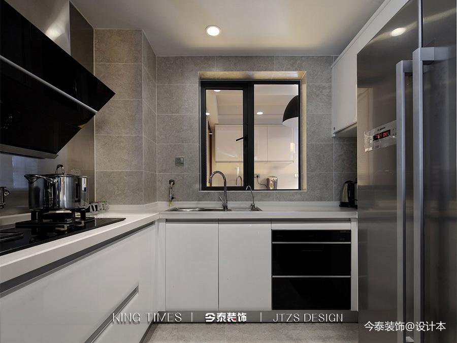 最新面积105平简约三居厨房效果图片大全