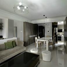95平米三居客厅北欧装修图片