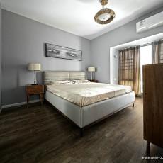 精选97平方三居卧室北欧效果图片