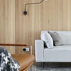 面积102平现代三居客厅装修设计效果图片大全