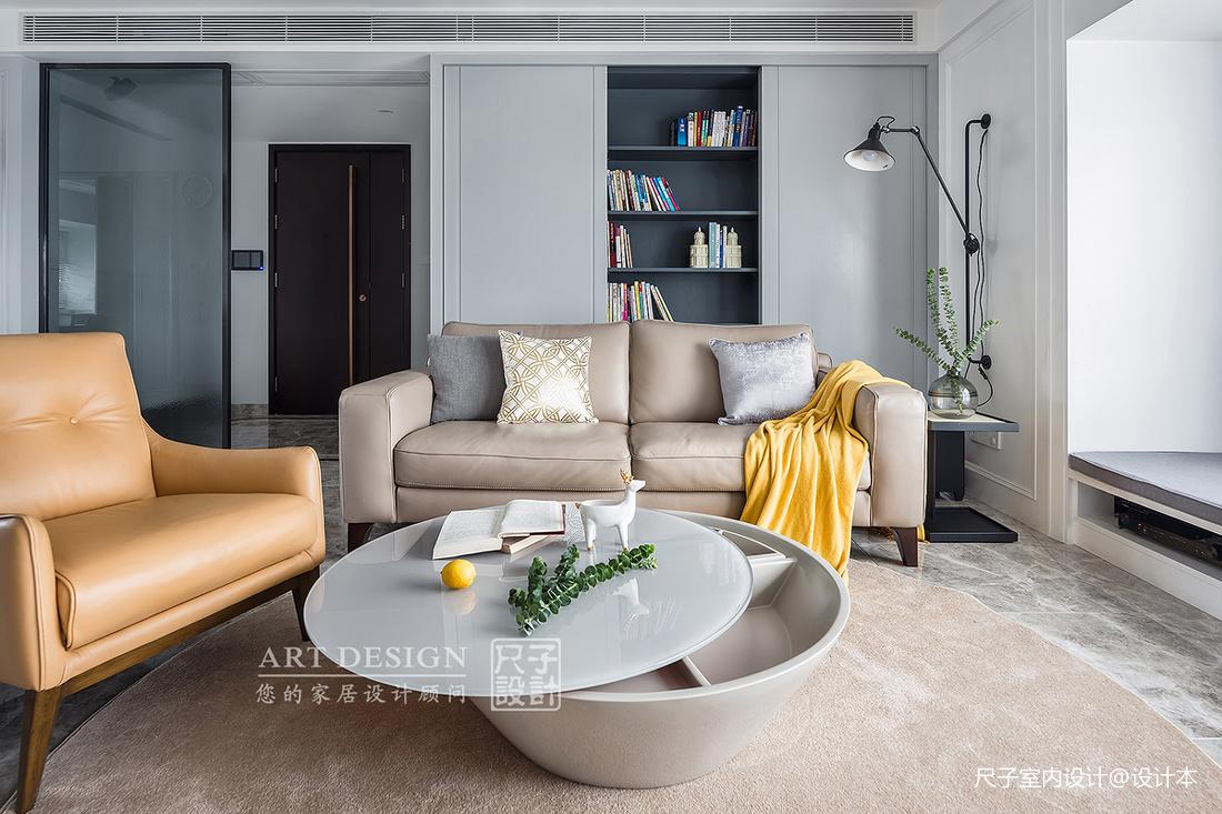 【尺子室内设计】漫·灰 | 不装电视的家,依旧精彩_3303541