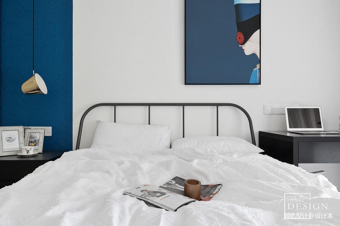 精选面积104平现代三居卧室装修图片欣赏