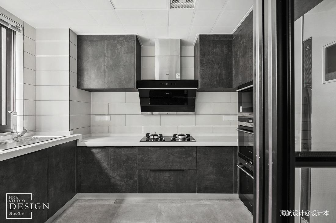 热门面积103平现代三居厨房装饰图片大全