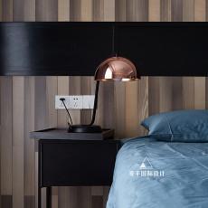 精美118平现代三居卧室装修效果图
