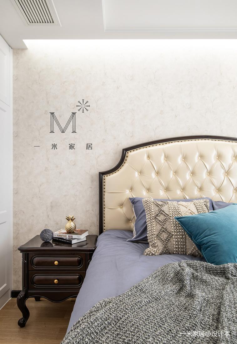 质朴106平美式三居装饰美图